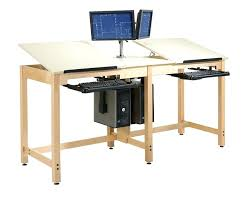 Drafting Table Blueprints Drafting Table Two Station Drafting Table Diy Drafting Table With