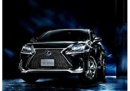 lexus launches all new u0027nx u0027 compact crossover suv in japan