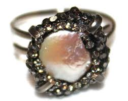 Black Gold Wedding Rings by Black Gold Ring Etsy