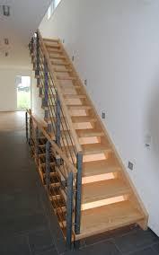 gerade treppe schreinerei hansen treppen für jede situation