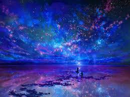 magical night wallpapers fantasy landscapes wallpaper