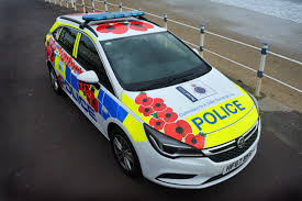 police car dorset police brand police car in support of this year u0027s poppy