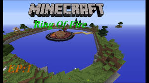Ring Of Fire Map Ring Of Fire Ep 1 Minecraft Survival Map Lets Play Youtube