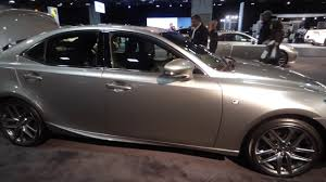 lexus is f sport 2017 lexus is f sport 2018 washington dc auto show 2017 youtube