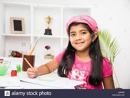 indian kids painting stock photos u0026 indian kids painting stock