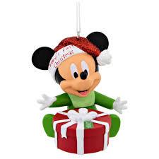 hallmark disney mickey mouse baby u0027s 1st christmas ornament