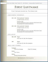 Free Downloadable Resume Templates For Word Downloadable Resume Templates Word Gfyork Com