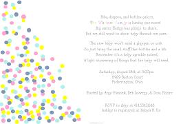 coed baby shower invitations wording alesi info