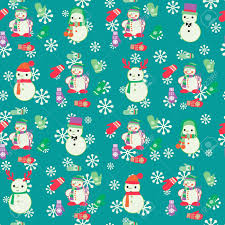 where to buy pretty wrapping paper vector christmas seamless pattern with snowmen and mitten