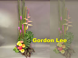 church flower arrangements ch 10 每周主日獻花系列 weekly church flower arrangement 010