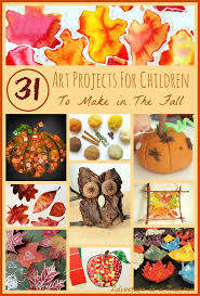 31 art projects for children to make in the fall celebrations
