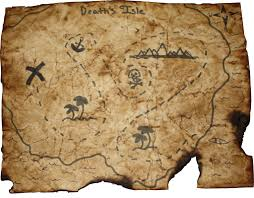 World Treasure Map by Treasure Map By 7m7uf On Deviantart