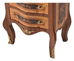 antica soffitta antica soffitta cassettiera com祺 mobiletto barocco noce legno oro
