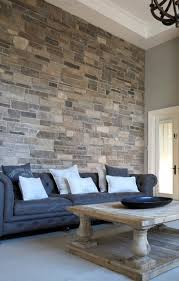 Accent Wall For Living Room by Interior Stone Accent Walls Contemporary Living Room Toronto
