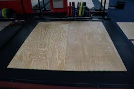 How To Make A Platform Bed With Plywood by How To Build A Weightlifting Platform Athletic Lab