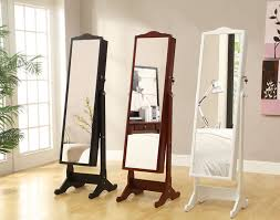 mirror jewelry armoires full length mirror jewelry armoire adds special charm and comfort