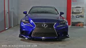 lexus is 250 body kit how to install your lexus is 3rd fsport gen nia splitter kit youtube