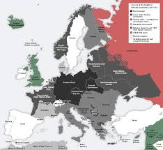 Germany Europe Map by What If Germany Won World War Ii Fictional U0026 Historical