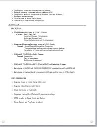 resume sles for electrical engineer pdf to excel best technical resume format download