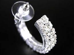 boucle d oreille mariage boucles d oreilles mariage créoles 1 2 anneaux un jour spécial