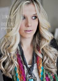 how to get loose curls medium length layers 10 minute loose curls pink pistachio