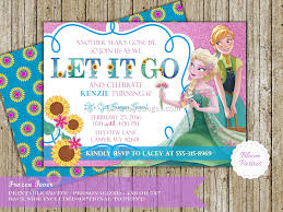 frozen birthday invitations 5 best birthday resource gallery