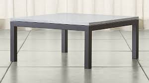 White Marble Top Coffee Table Parsons White Marble Top Steel Base 36x36 Square Coffee