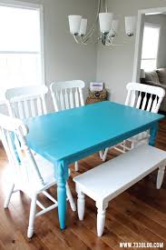 dining tables glamorous painted dining table designs chalk