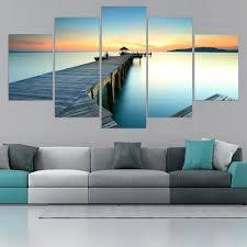 Livingroom Art by Online Get Cheap Sunset Canvas Wall Art Aliexpress Com Alibaba