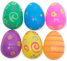 easter eggs plastic printed easter eggs party accessory by