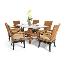 Rattan Kitchen Table by Boca Rattan Dining Room Tables Homeclick