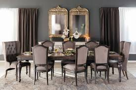 Hooker Dining Room Table by Hooker Arabella Dark Gray Rectangular Leg Table Mathis Brothers