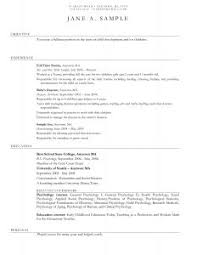 Sample Resume For Daycare Worker by Examples Of Resumes 81 Inspiring Writing Sample For Graduate