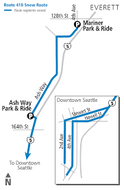 Seattle Bus Routes Map by Schedules