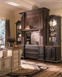 kitchen interesting kitchen decoration using mahogany wood