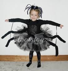 halloween black widow black and silver girls spider tutu dress