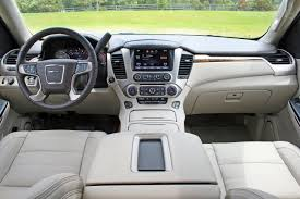 2017 nissan armada cloth interior comparison gmc yukon denali 2016 vs nissan armada platinum