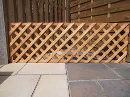 diamond trellis golden brown farmac timber and building supplies