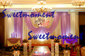 wedding backdrop frame white backdrop with liac swag for wedding backdrop frame included