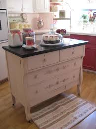 upcycled dresser kitchen island idea upcycling and recycling