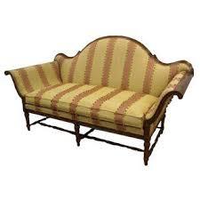 Horsehair Sofa Vintage U0026 Used Rustic Standard Sofas Chairish