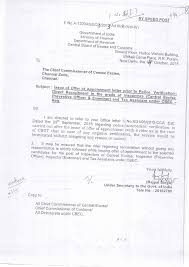 Tax Assistant Job Description Customs Central Excise Service Tax Zone Lucknow
