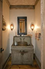 rustic modern bathroom vanity lights with candle sconces over