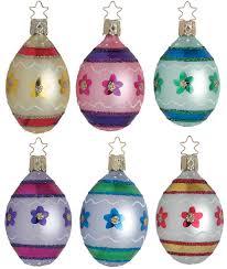 eggsactly easter egg ornament by inge glas