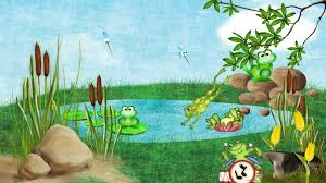 spring music summer frogs frog fun pond images of cartoon frogs