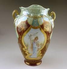 royal windsor art nouveau porcelain vase ebth