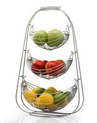fruit baskets sagler 3 tier fruit basket stainless steel fruit