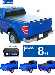Ford F250 Truck Bed Size - tyger rolock low profile roll up truck bed tonneau cover for 2008