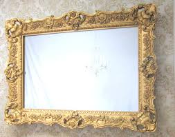 Gold Vanity Mirror Mirrors Bathroom Mirrors Wood Frame Small Gold Framed Mirrors