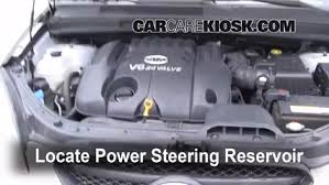 hyundai elantra power steering fluid check power steering level kia rondo 2007 2010 2007 kia rondo